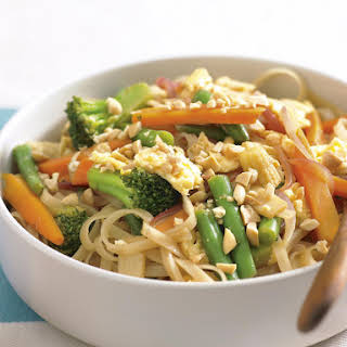 Scrambled Egg and Noodle Stir-Fry.