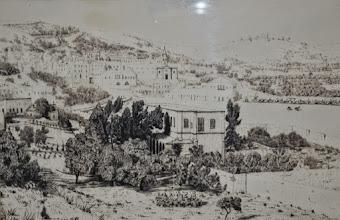 Photo: Disegno di Nazaret al tempo di fr. Charles (De Foucauld)
