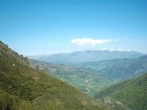 Photo: Kantabrien: Blick vom Puerto de San Glorio nach Kantabrien