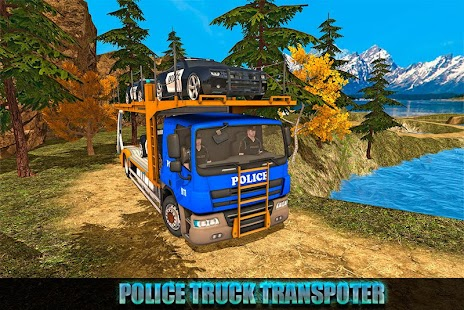 Offroad Police Transport Truck Sim- screenshot thumbnail