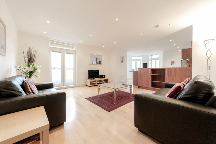 living space at Thames Edge