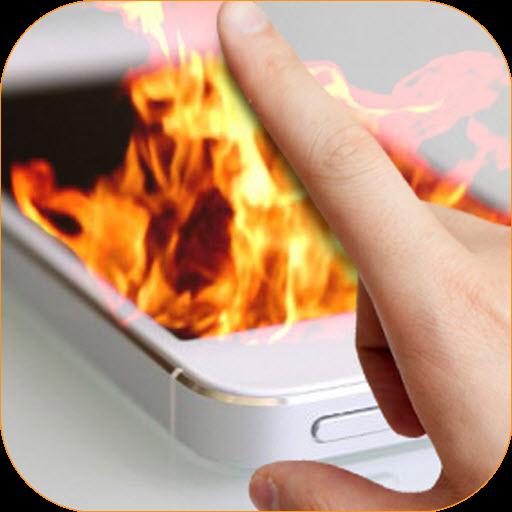 Fire Screen Prank  screenshots 3