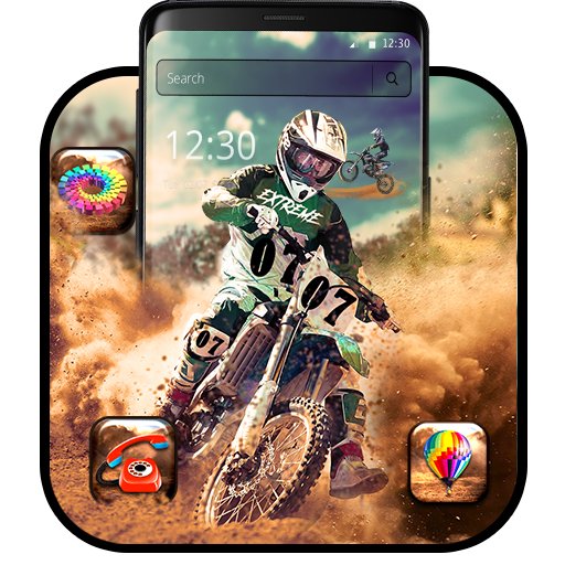 Motocross dirt bike theme
