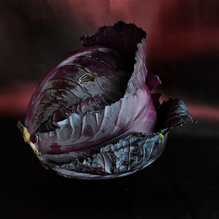 Braised Red Cabbage Confit