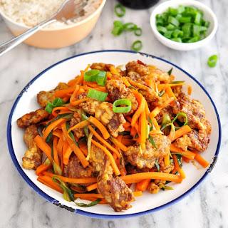[Gluten Free Recipe] Chinese Crispy Beef with Brown Sugar, Balsamic Vinegar & Tamari (or Soy Sauce)