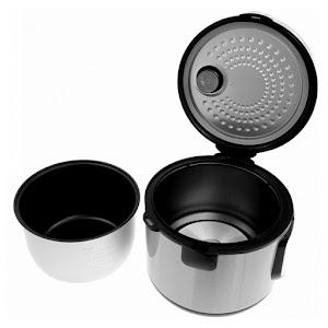 Multicooker argintiu ZEPHYR, 18 programe, 700W, 5 litri