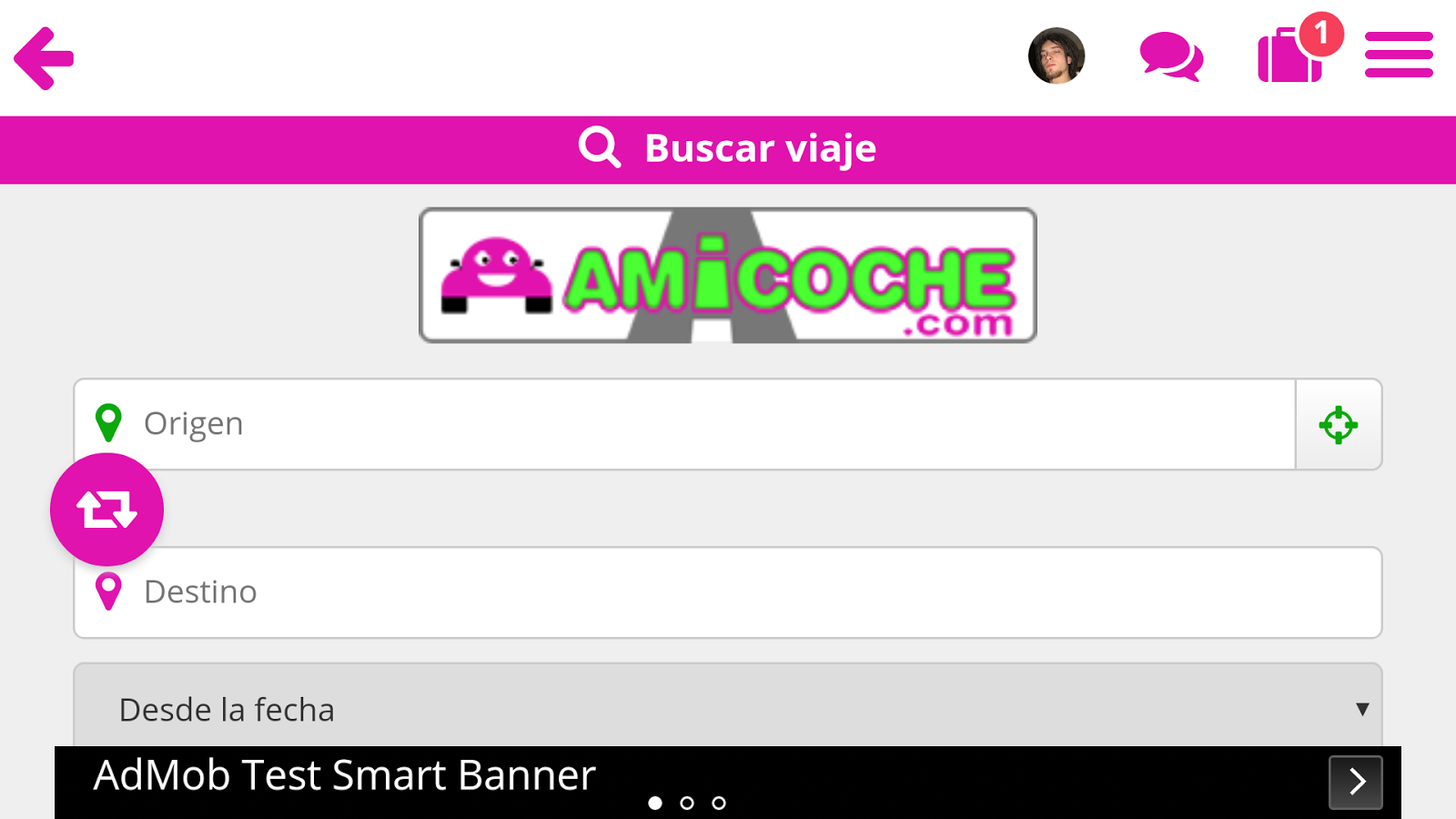 Amicoche - Compartir coche- screenshot