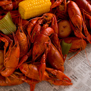 Easy Boiled Crawfish.