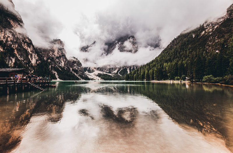 Braies lake di Sebastiano Pieri