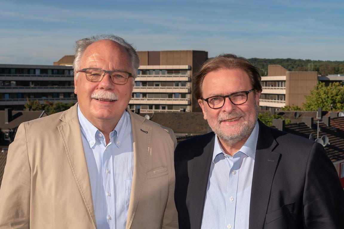 Harald Schliekert und Frank Goossens