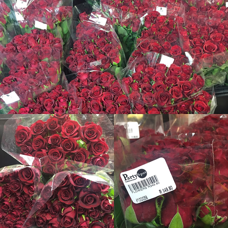 Red roses from Flower Spot.