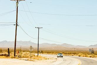 Photo: Speed Limit -- Mojave Desert, CA