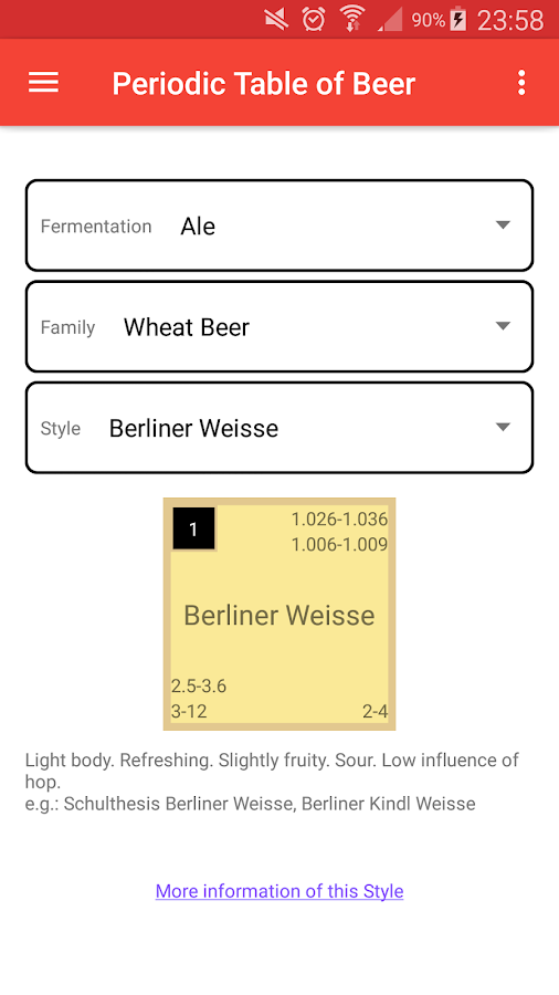 Periodic table of beer android apps on google play periodic table of beer screenshot urtaz Gallery