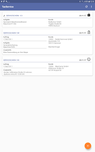 TaxService • Serviceschein-App - náhled