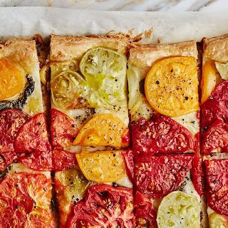 Tomato-Lemon Tart recipe | Epicurious.com.