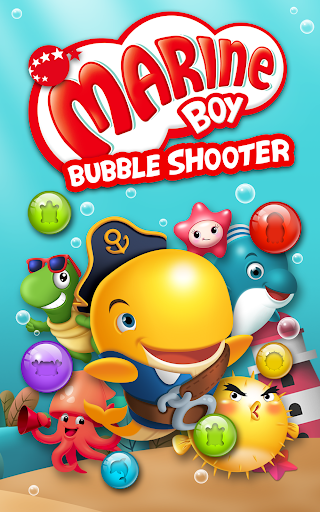 Bubble Shooter: Marine Boy apkpoly screenshots 8