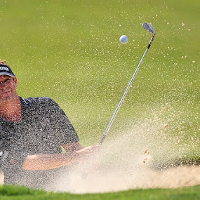 Out of the sand by Tom Theodore - Sports & Fitness Golf ( golf )
