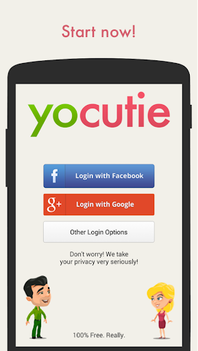 YoCutie ♥ 100% Free Dating App for PC