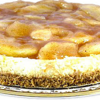 Delicious and Lo Cal Apple Pie Cheesecake.