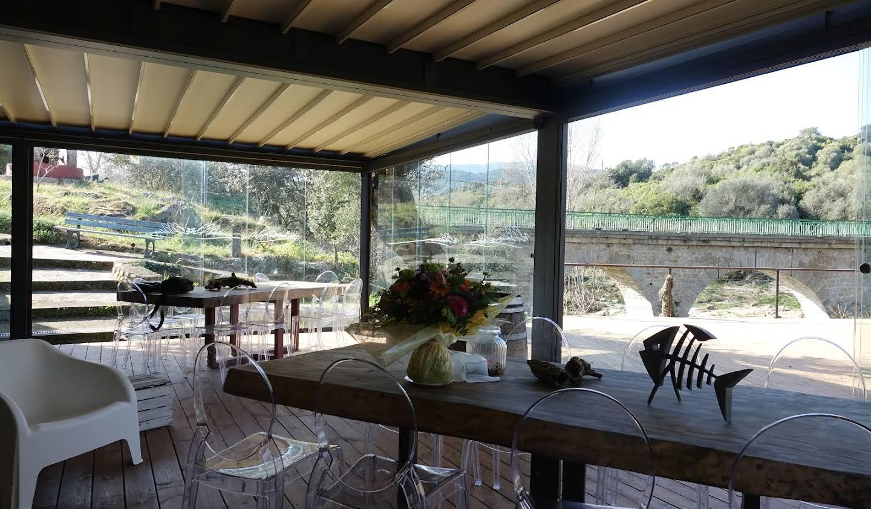 Hôtel particulier avec jardin et salle de réception Casalabriva
