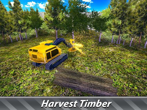 Logging Harvester Truck 1.4 screenshots 7