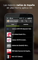 Screenshot of Radios España