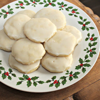 Frosted Lemon Cookies