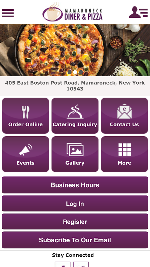 Mamaroneck Diner and Pizza- screenshot
