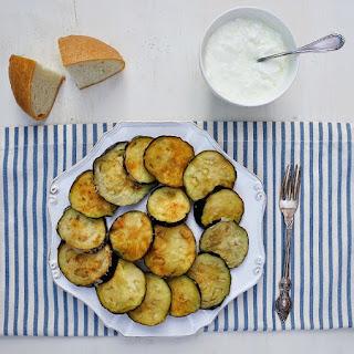 Greek fried eggplants - Melitzanes tiganites