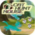 Blue Cat Hunt Mouse Rats Funny icon