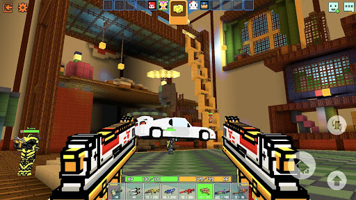 Cops N Robbers - 3D Pixel Craft Gun Shooting Games 9.8.4 Screenshots 3