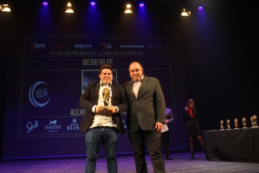 Galardonado en los Premios de la Noche Almeriense.