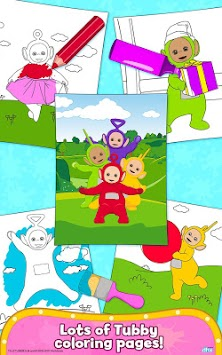 Teletubbies Paint Sparkles APK Screenshot Thumbnail 14