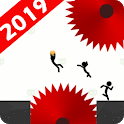 Stickman Impaled:Stick Parkour Platformer icon