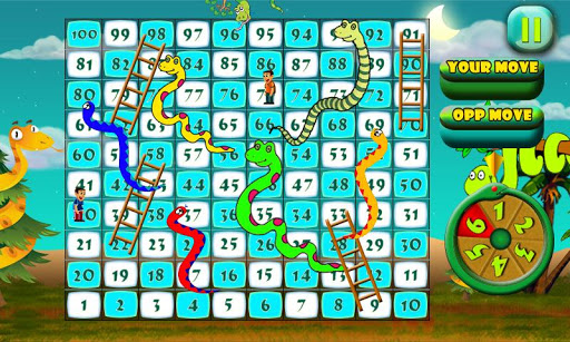 Snakes N Ladders The Jungle Fun Game 1.0 screenshots 8
