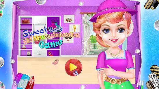 Sweet Baby Girl House Decoration Games Google Play Ilovalari