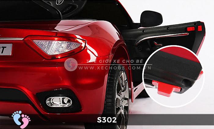 xe oto dien cho be Maserati S302 22