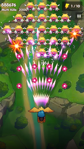 Code Triche Poultry Shoot Blast: Free Space Shooter mod apk screenshots 2