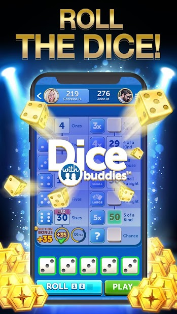 Dice With Buddies™ Free - The Fun Social Dice Game Android App Screenshot
