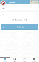 Screenshot of Ketary (Schedules ONCF)
