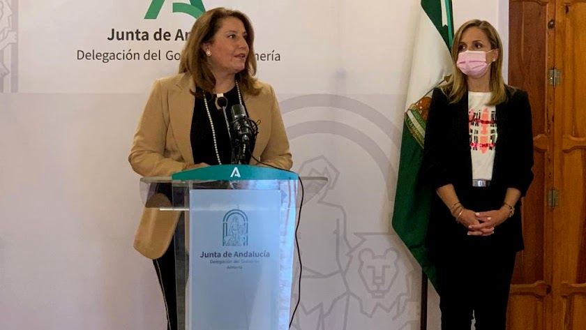 La consejera de Agricultura, Ganadería, Pesca y Desarrollo Sostenible en la presentación.