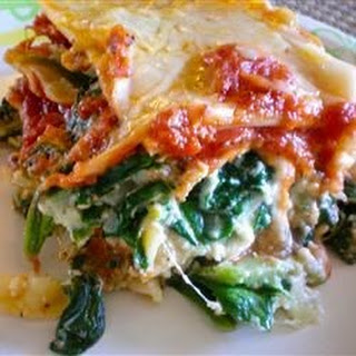 Spinach Lasagna Without Ricotta Recipes