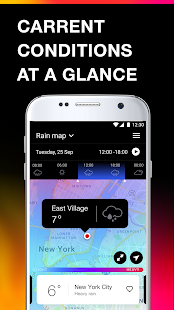 App Weather app: weather radar & weather forecast APK for Windows Phone