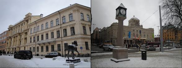 Photo: Östermalm (luxueuze buurt) & Norrmalm (het huidige centrum)