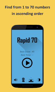 Rapid 70 screenshot