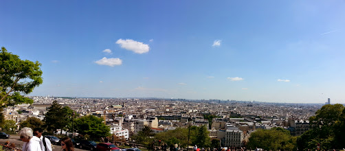 Photo: View from Sacre Couer