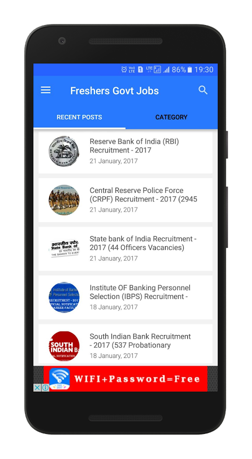 Sarkari Naukri Government Jobs 2017- screenshot