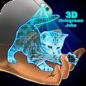 Hologrammes 3D Joke icon