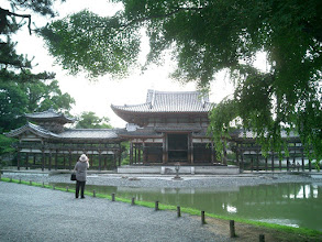 Photo: 阿字池 越しに鳳凰堂を望む by YH