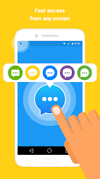 Messenger - Video Call, Text, SMS, Email APK screenshot thumbnail 2
